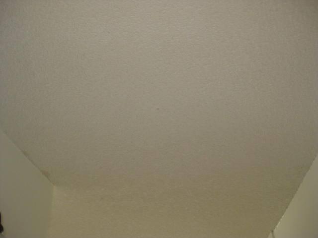 Popcorn ceilings 1