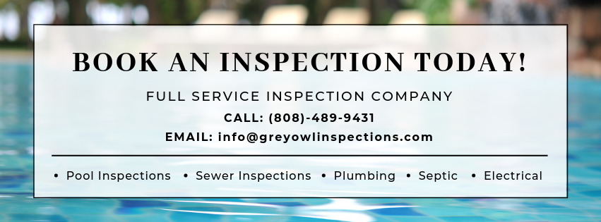 book an inspection today